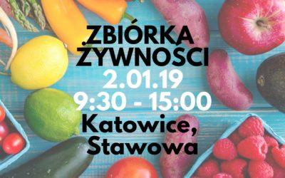 • Zbiórka żywności w Katowicach